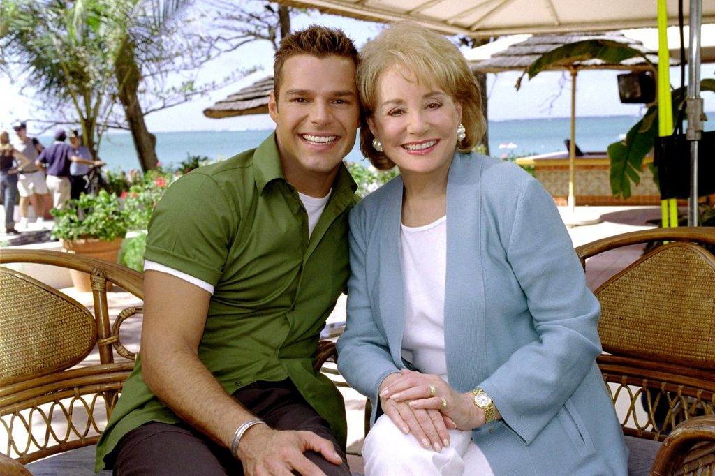 RICKY MARTIN, Appearing On THE BARBARA WALTERS SPECIAL, 09/12/2000.