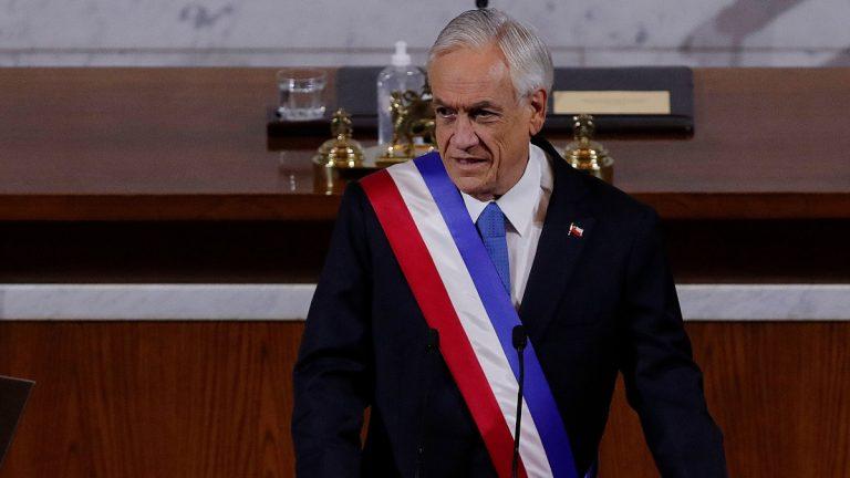 Sebastián Piñera Informó Vacunación