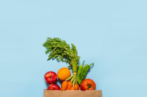 Alimentos Para Una Vida Sana Frutas Y Verdura