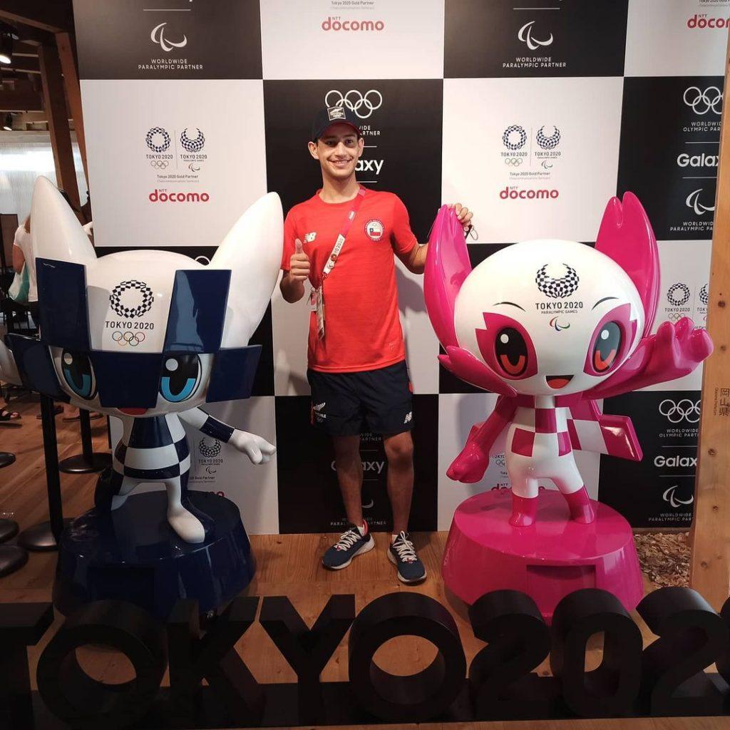 Andrés Aguilar Team Chile En Tokio 2020