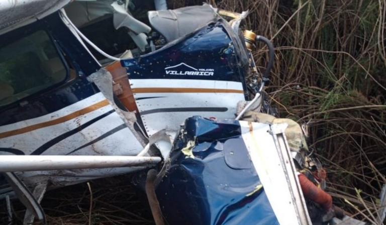 Avioneta cae en ruta de Isla Mocha a Tirúa: Registran personas heridas