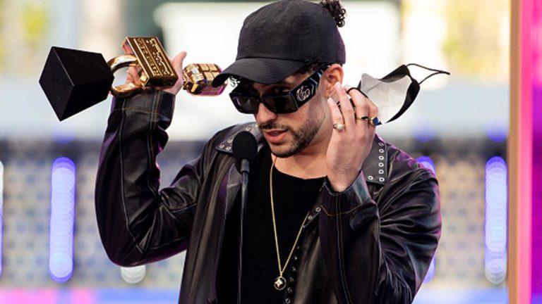 Bad Bunny En Los Premios Billboard a la Música Latina