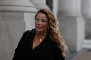 Cathy Barriga Se Retira Del Palacio De Gobierno