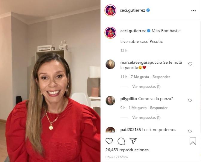 Cecilia Gutierrez Denuncia De Mauricio Pesutic