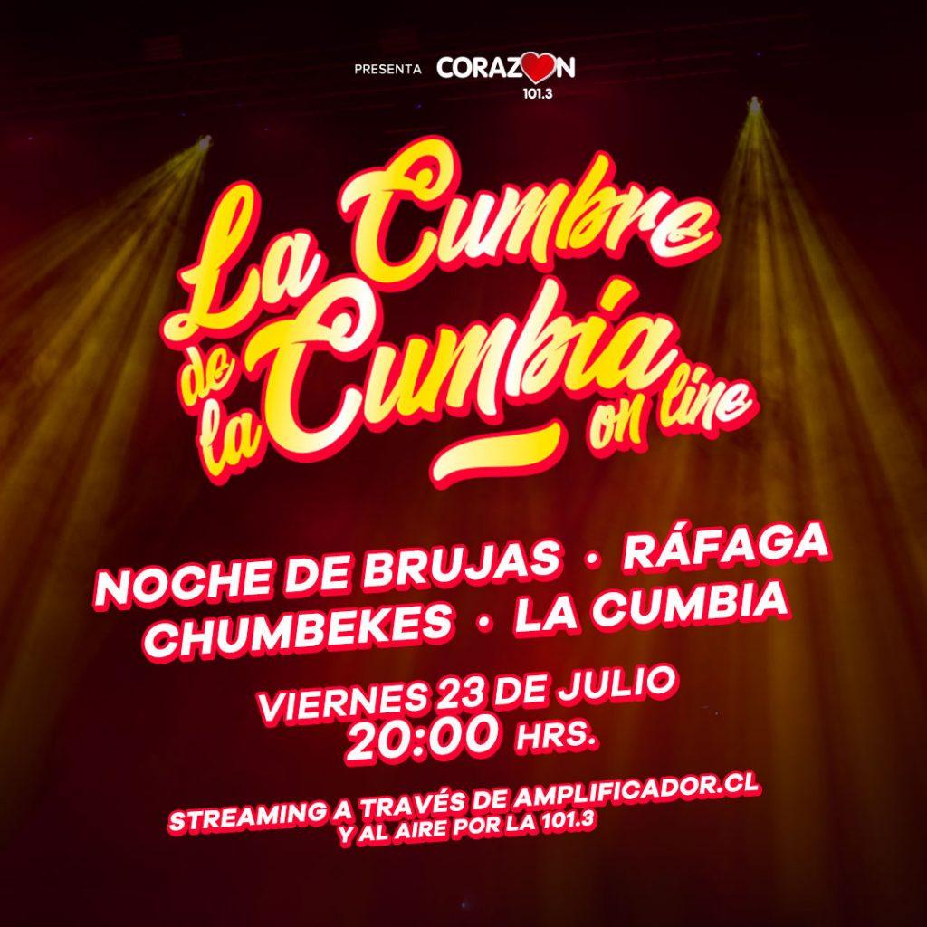 """La Cumbre De La Cumbia"" Radio Corazón"