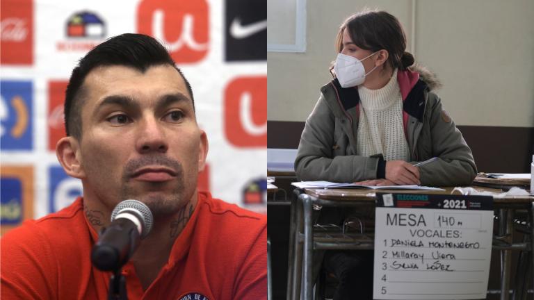 Millaray Viera y Gary Medel: Los famosos también son fans