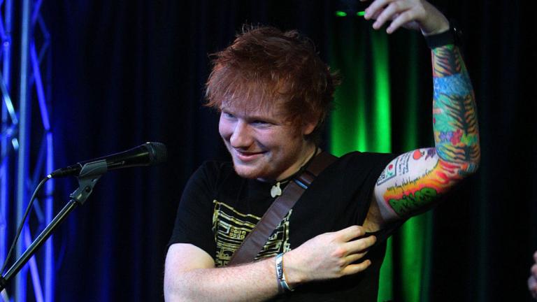 """Tatuador de Ed Sheeran """"Los tatuajes que él elige no son bonitos"""""""