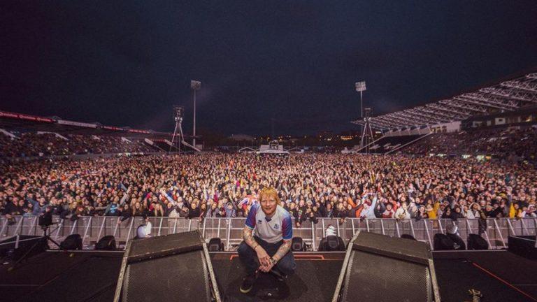 Ed Sheeran, de la religión a los conciertos