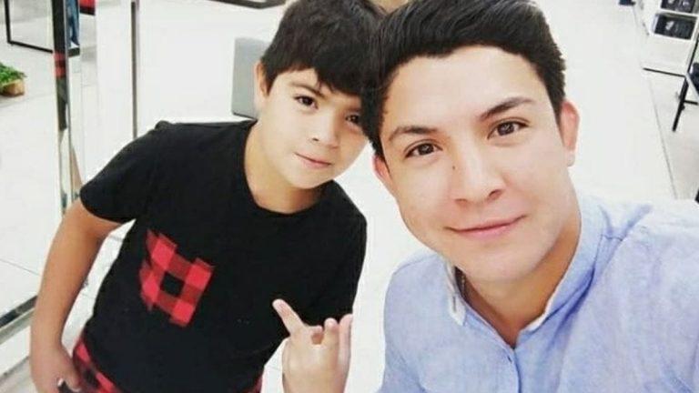 El Gitano y Lucas, el hijo que tuvo con su ex pareja