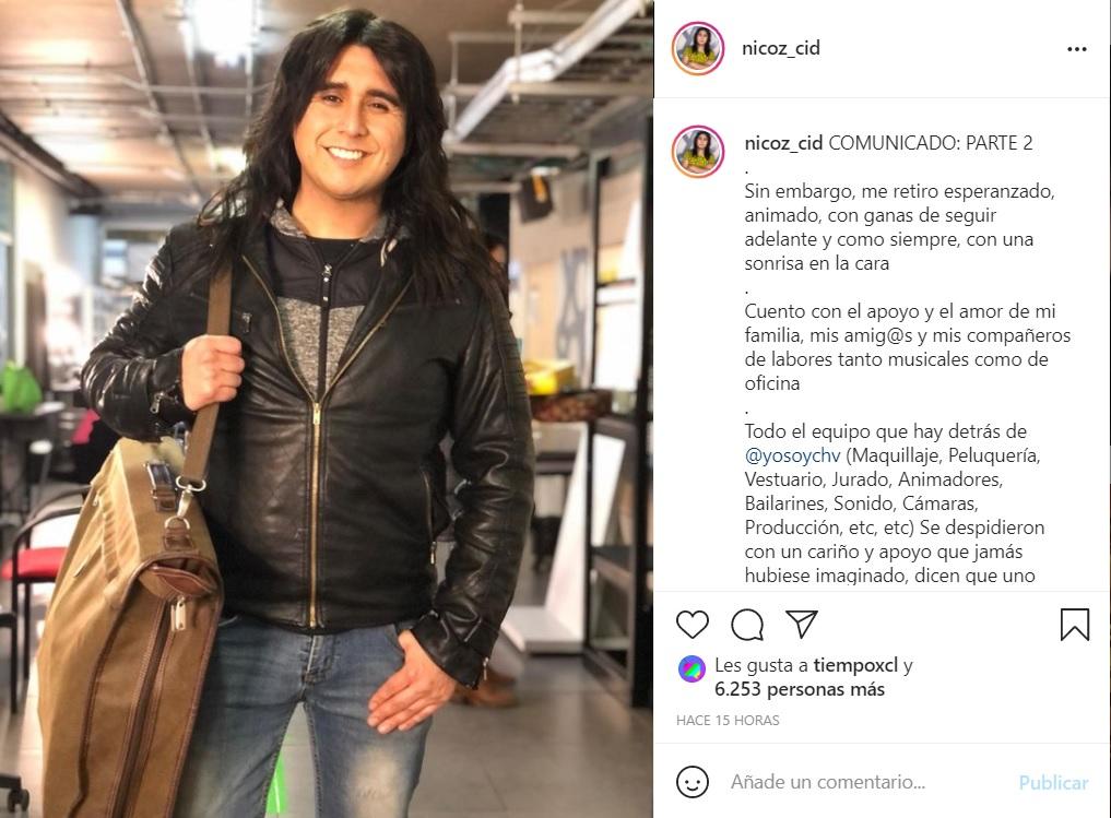 El Retiro De Nicolás Cid De Yo Soy All Stars