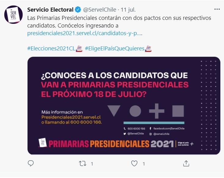 Elecciones primarias presidenciales