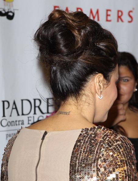 Eva Longoria y uno de los peores tatuajes