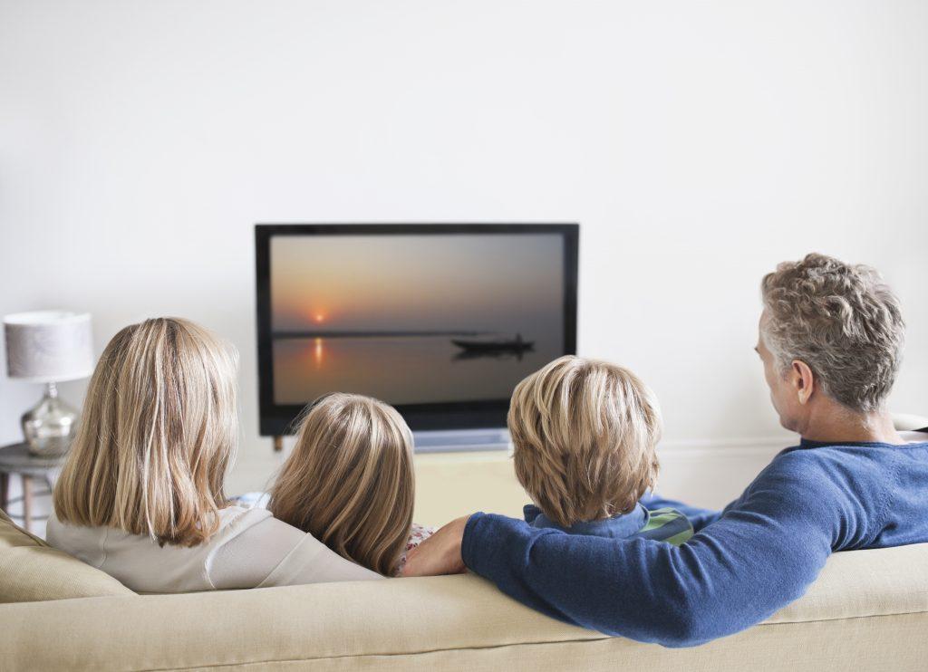 familia en vacaciones de invierno
