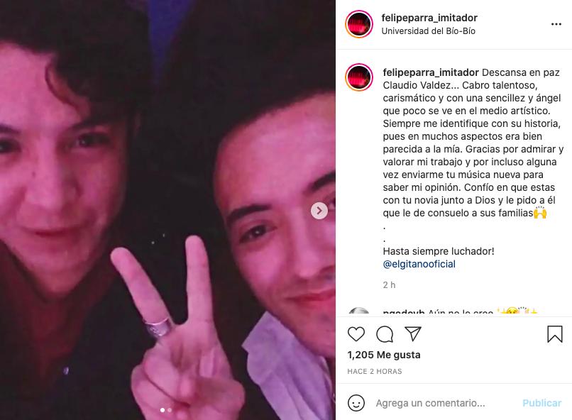 Famosos publicaron sentidos mensajes tras muerte de 'El Gitano' Valdés