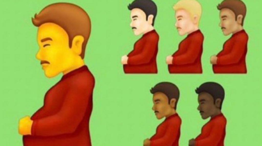 Hombre Gestando En WhatsApp
