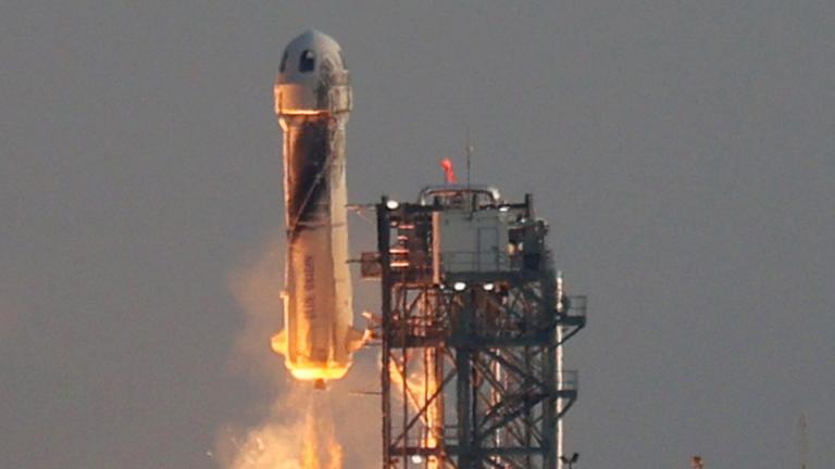 Jeff Bezos Y Su Viaje Al Espacio