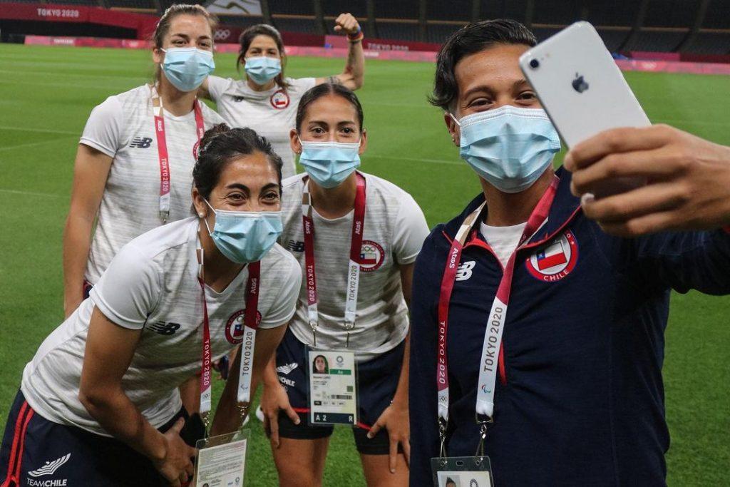 Jugadoras De La Roja Femenina