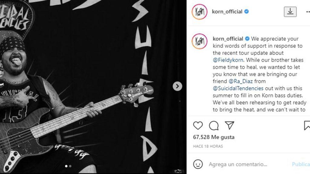 Korn En Instagram