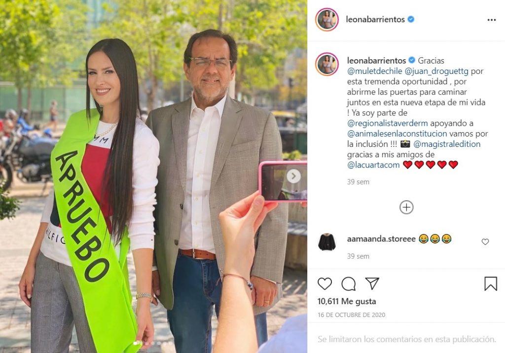 La Leona En Elecciones Constitucionales