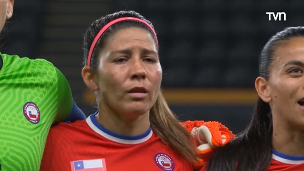 Lágrimas De Carla Guerrera La Roja Femenina JJOO