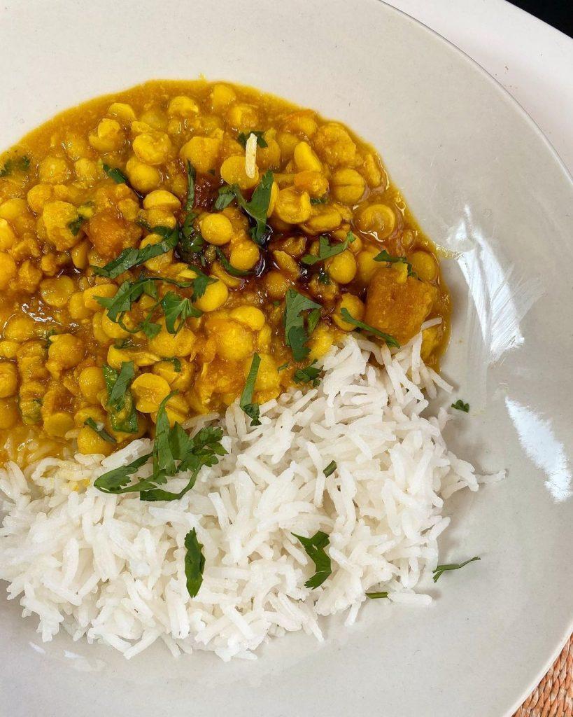 Las Recetas De Legumbres Curry De Garbanzos