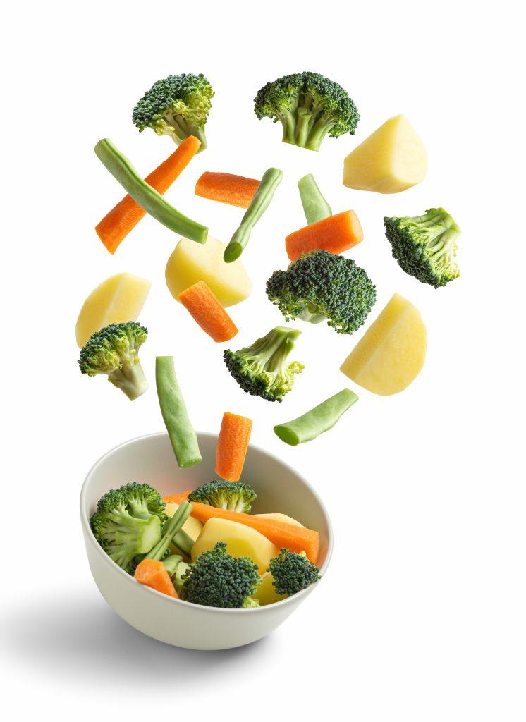 Los vegetales son claves en una dieta saludable