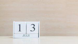 Martes 13 De Julio