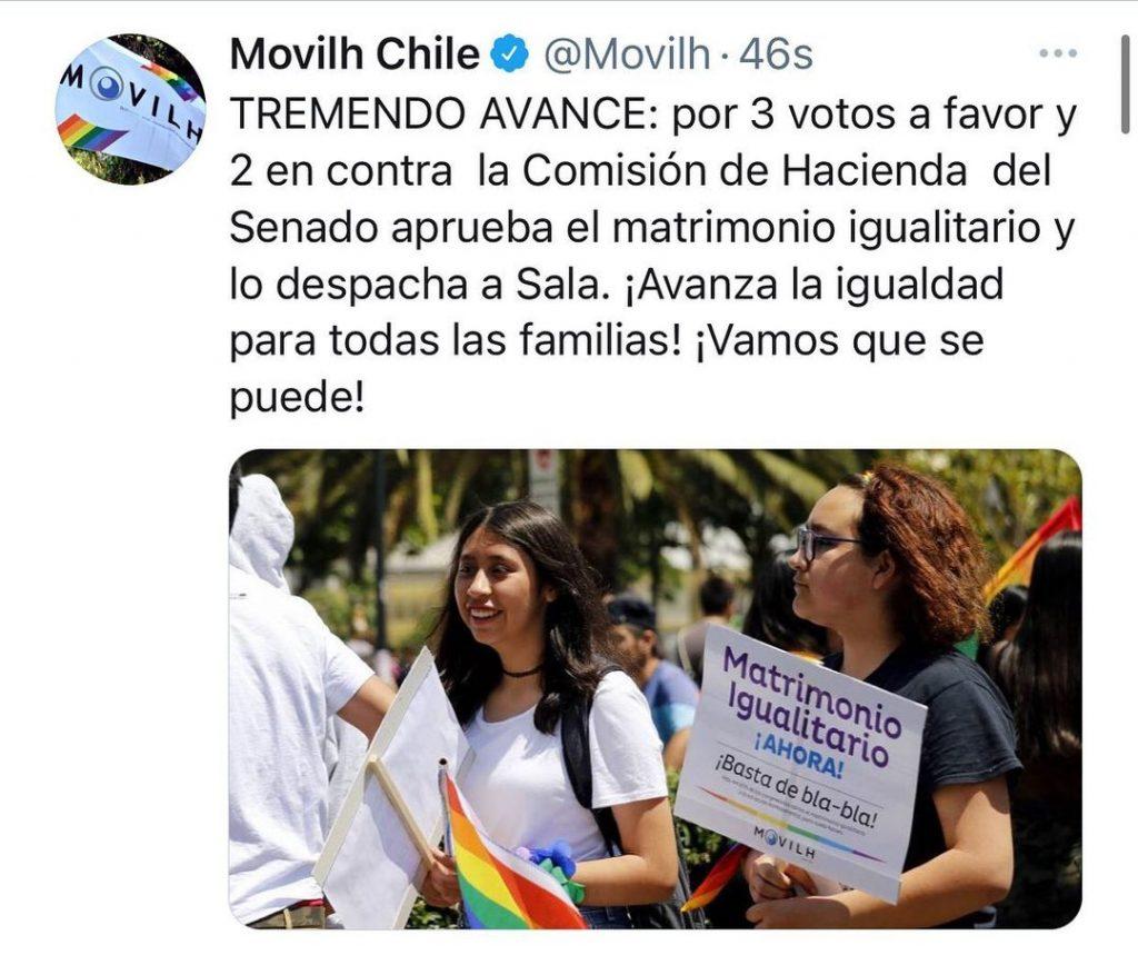 Movilh Proyecto Matrimonio Igualitario