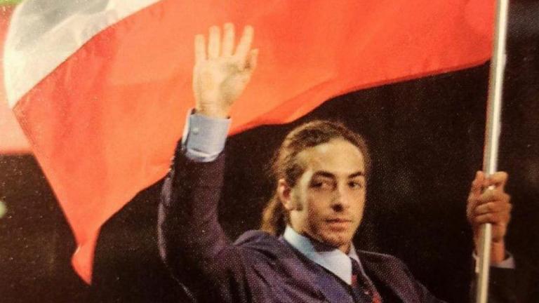 Nicolás Massú En JJOO Sidney Ceremonia