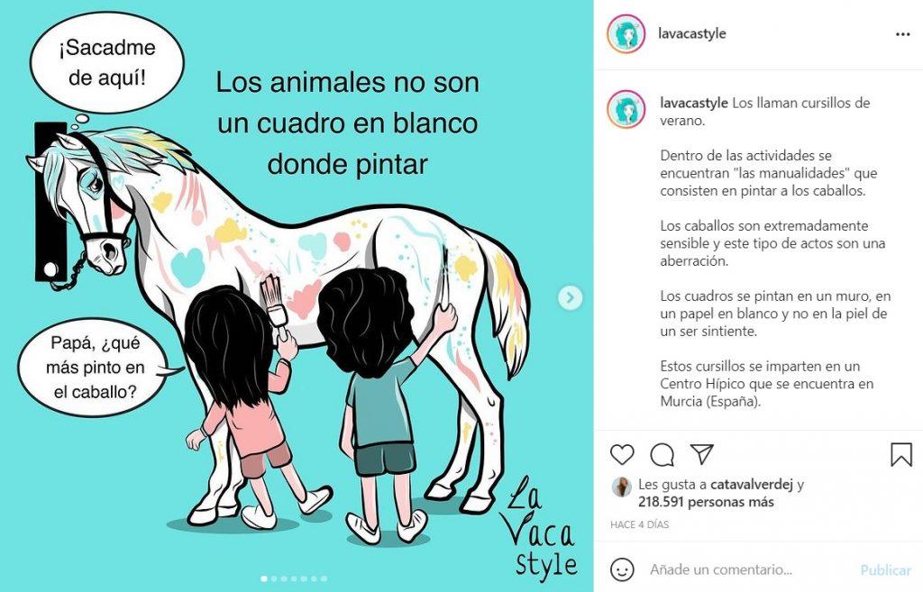 Niños En España Pintan Caballo