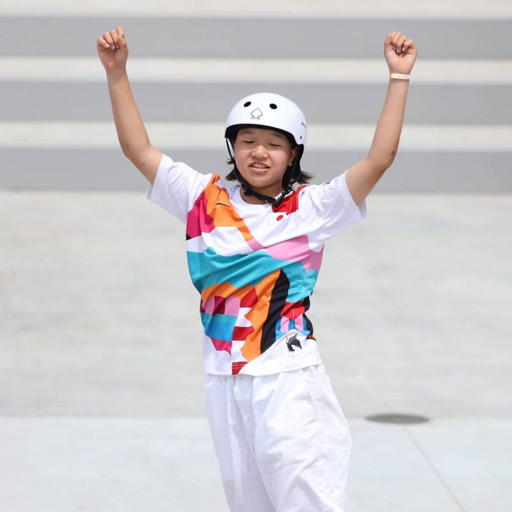 Nueva Campeona Olímpica De Skate 13 Años