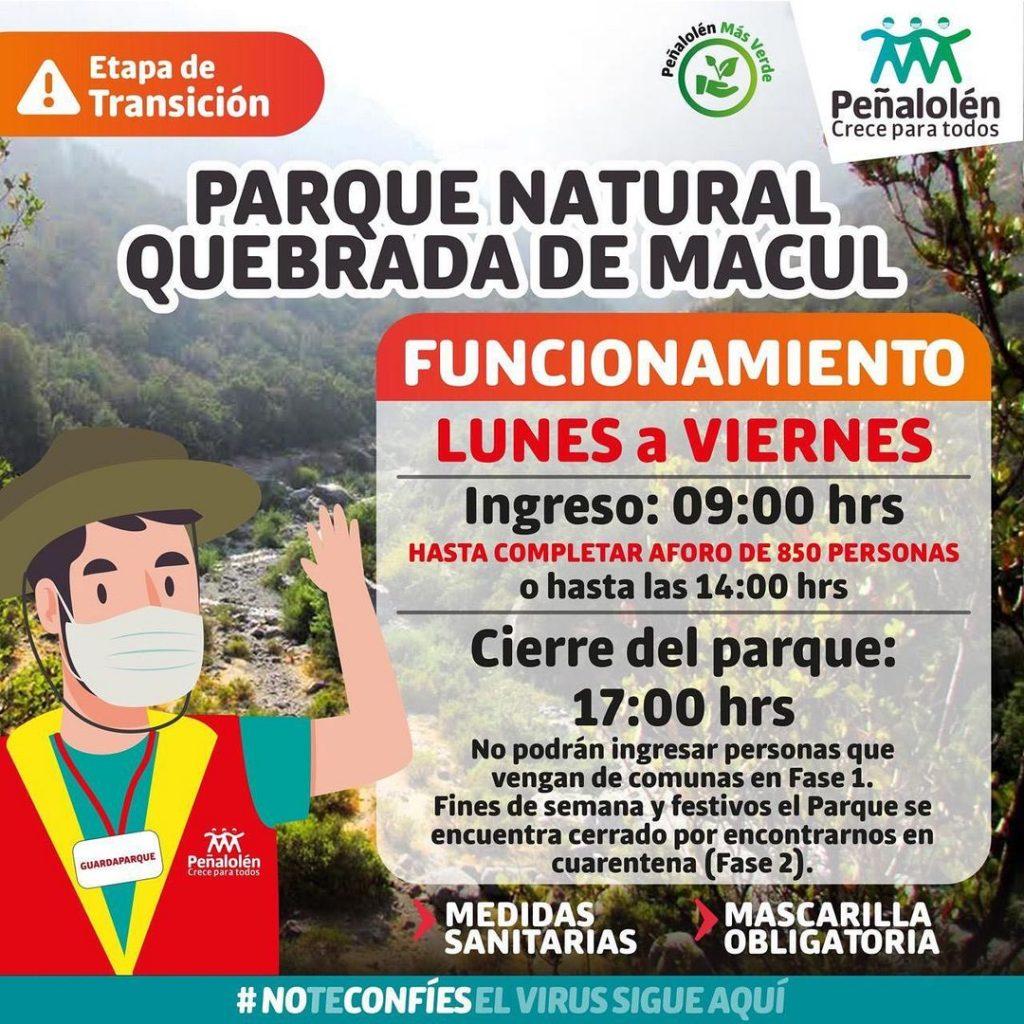 Panoramas Gratuitos Parque Quebrada De Macul