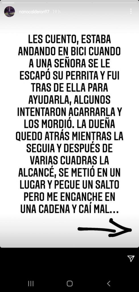 Pantallazo Nano Calderón 1