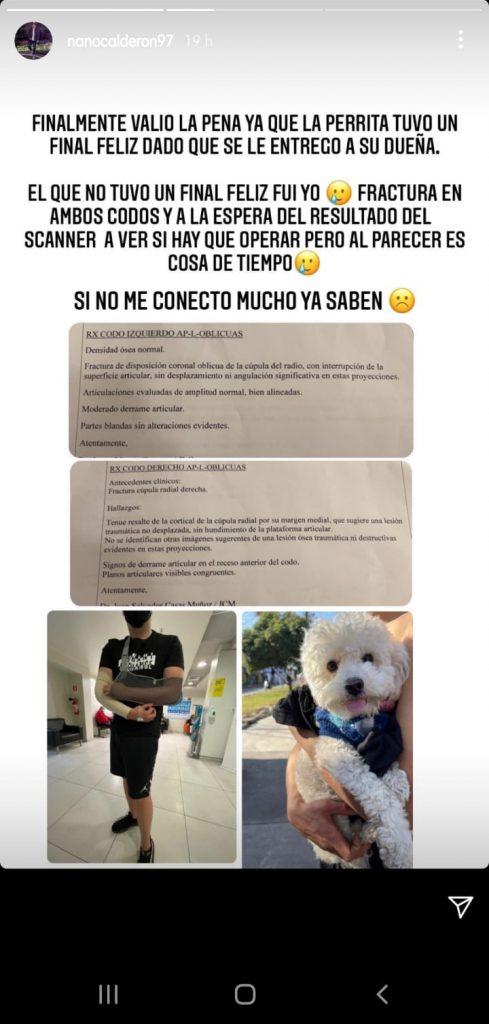 Pantallazo Nano Calderón 2