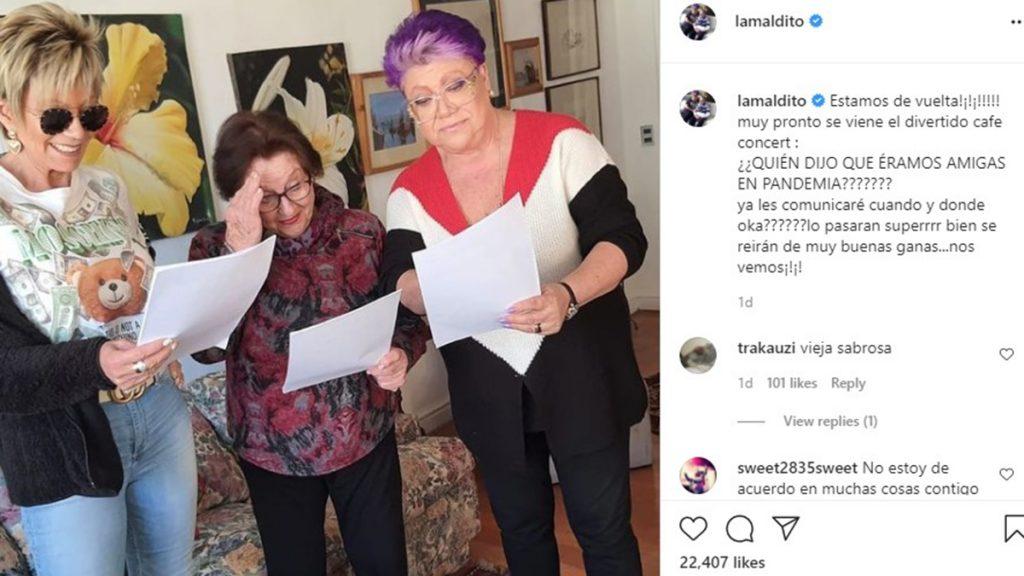 Patricia Maldonado Y Sus Amigas