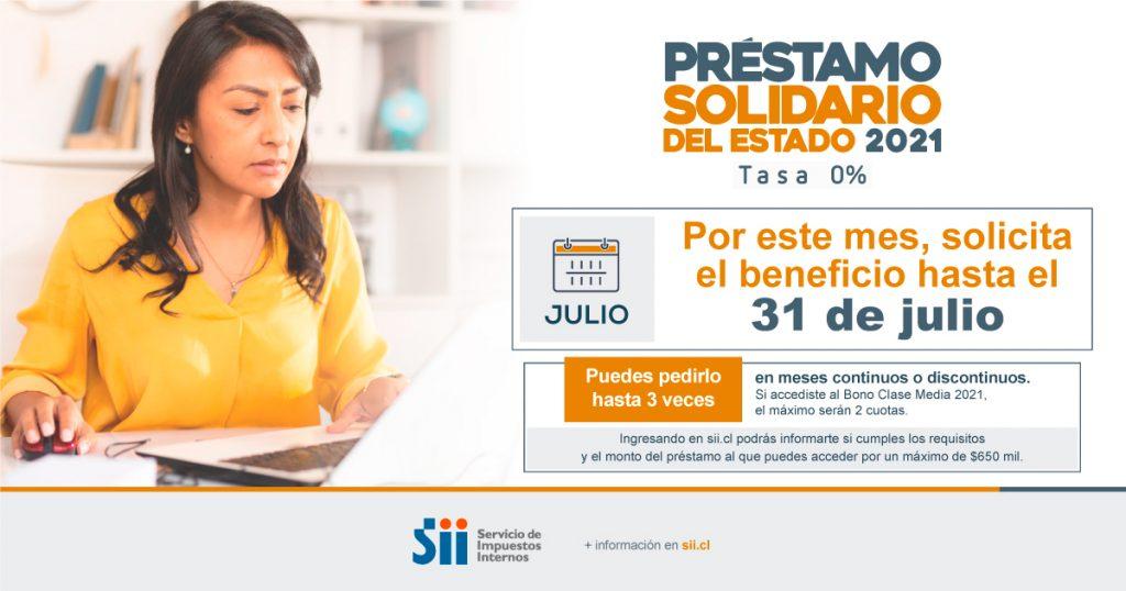 Solicitar Préstamo Solidario 2021