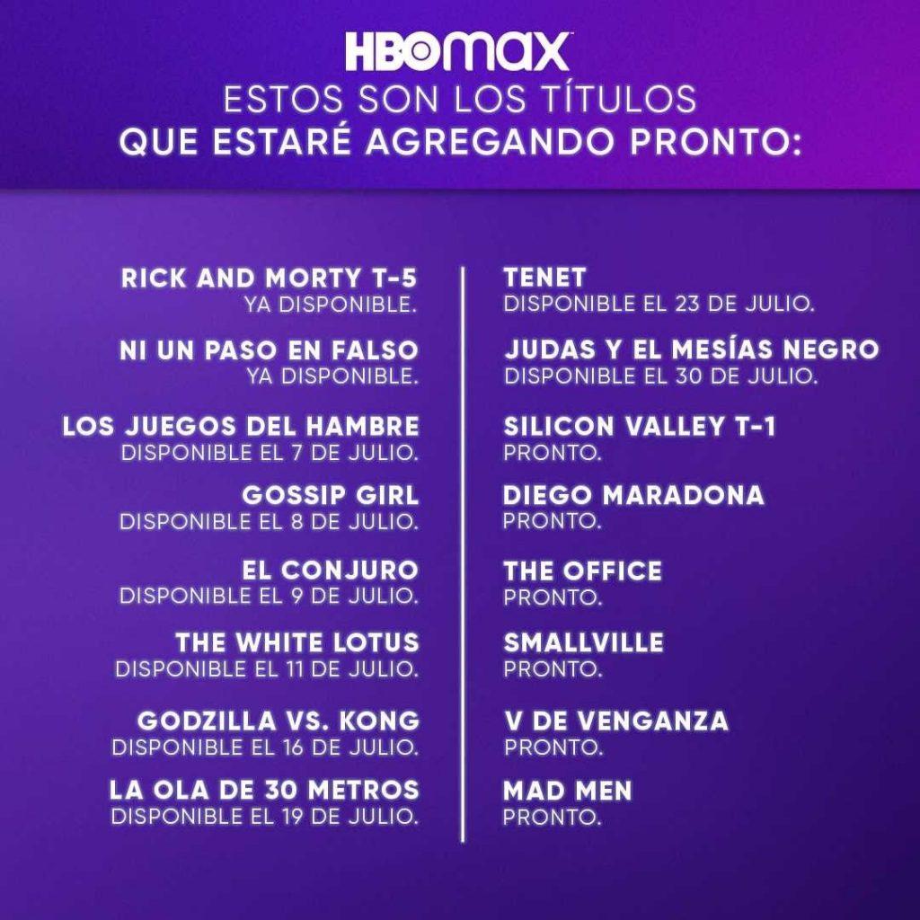Series De HBO MAX