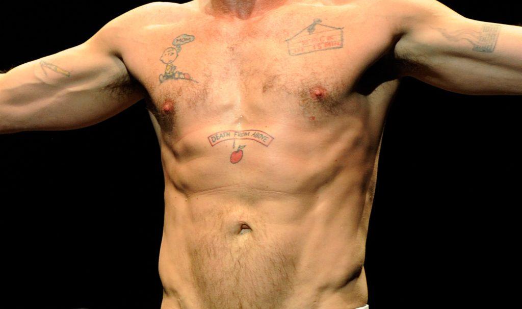 Charlie Sheen y sus peores tatuajes