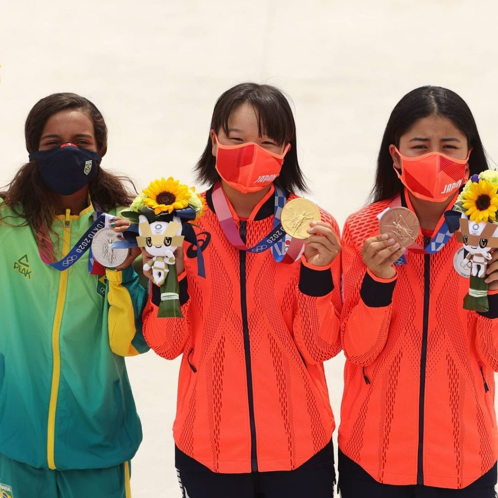 Skate En Tokio 2020 El Podio Más Joven De La Historia Olímpica