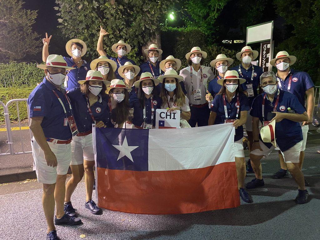Chile en el inicio de la competencia olímpica