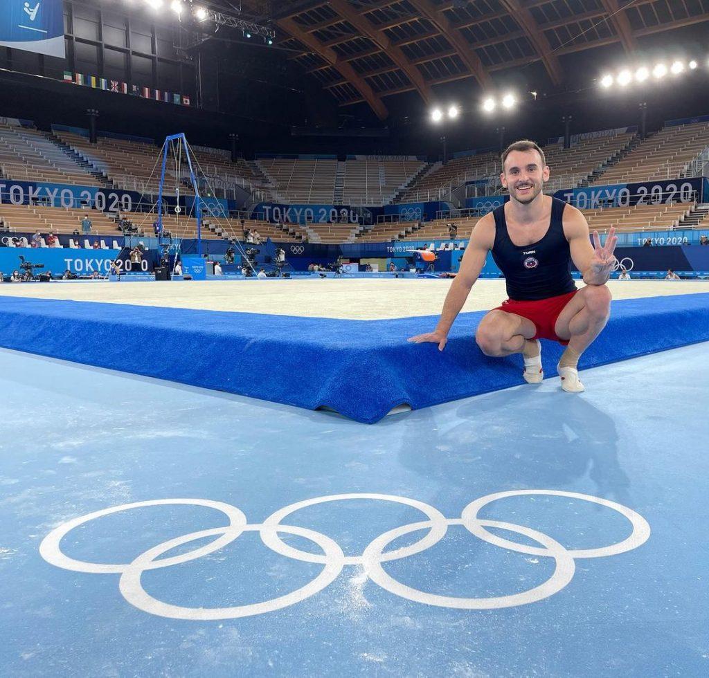 Tomás González En Sus Terceros Juegos Olímpicos