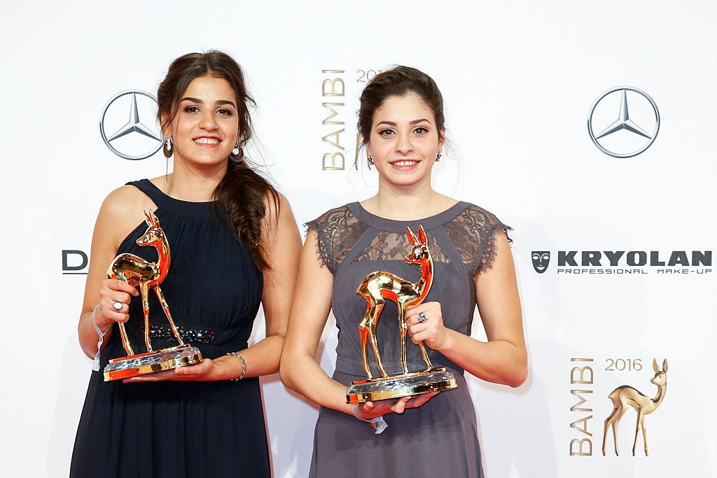 Yusra Mardini y Sarah Mardini