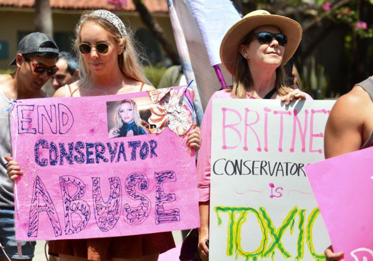 #FreeBritney March In West Hollywood, CA