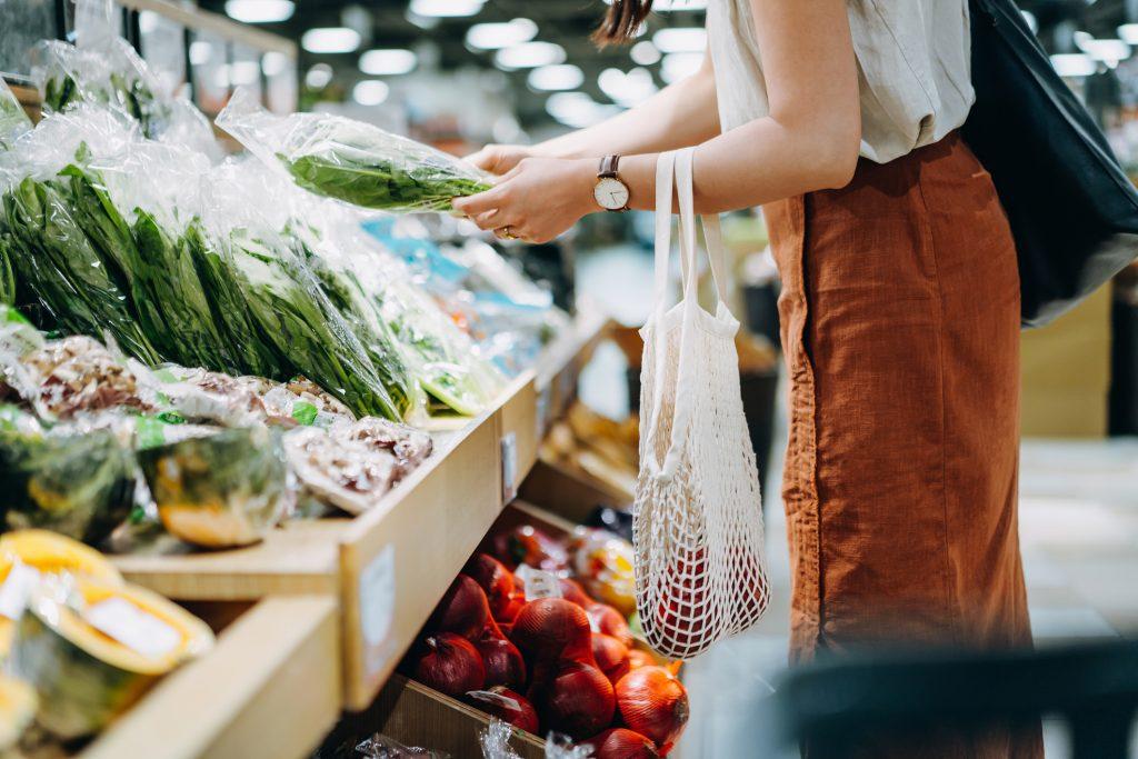 comprar y consumir alimentos de forma saludable