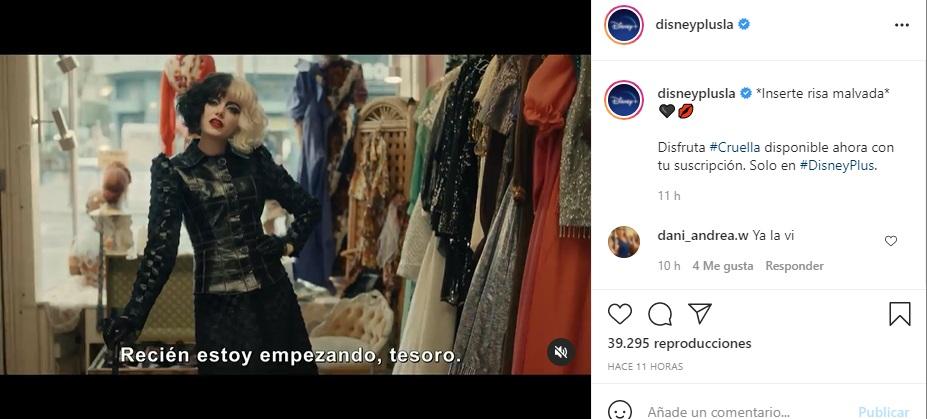Donde Ver Cruella Gratis Ahora Sin Cargo Adicional En Disney+