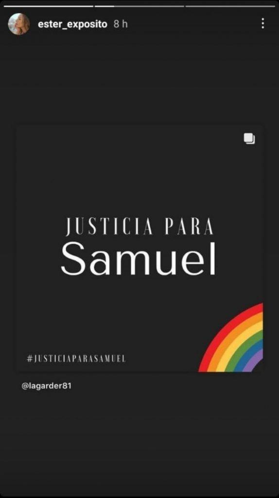 Ester Exposito Samuel Justicia