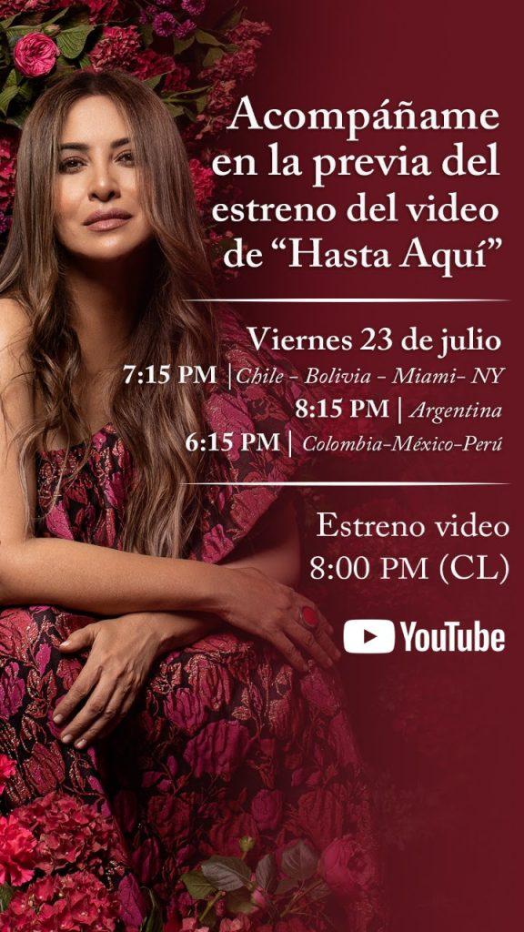 Invitación Myriam Hernández Nueva Canción