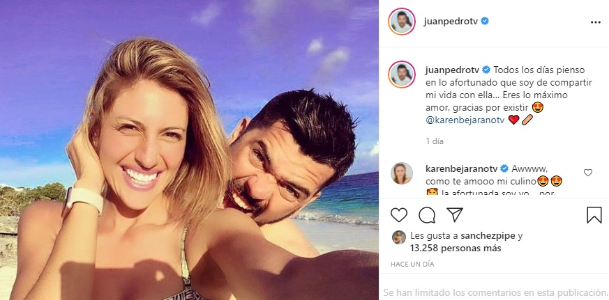 Juan Pedro Verdier Le Dedica Tierno Mensaje A Karen Bejarano