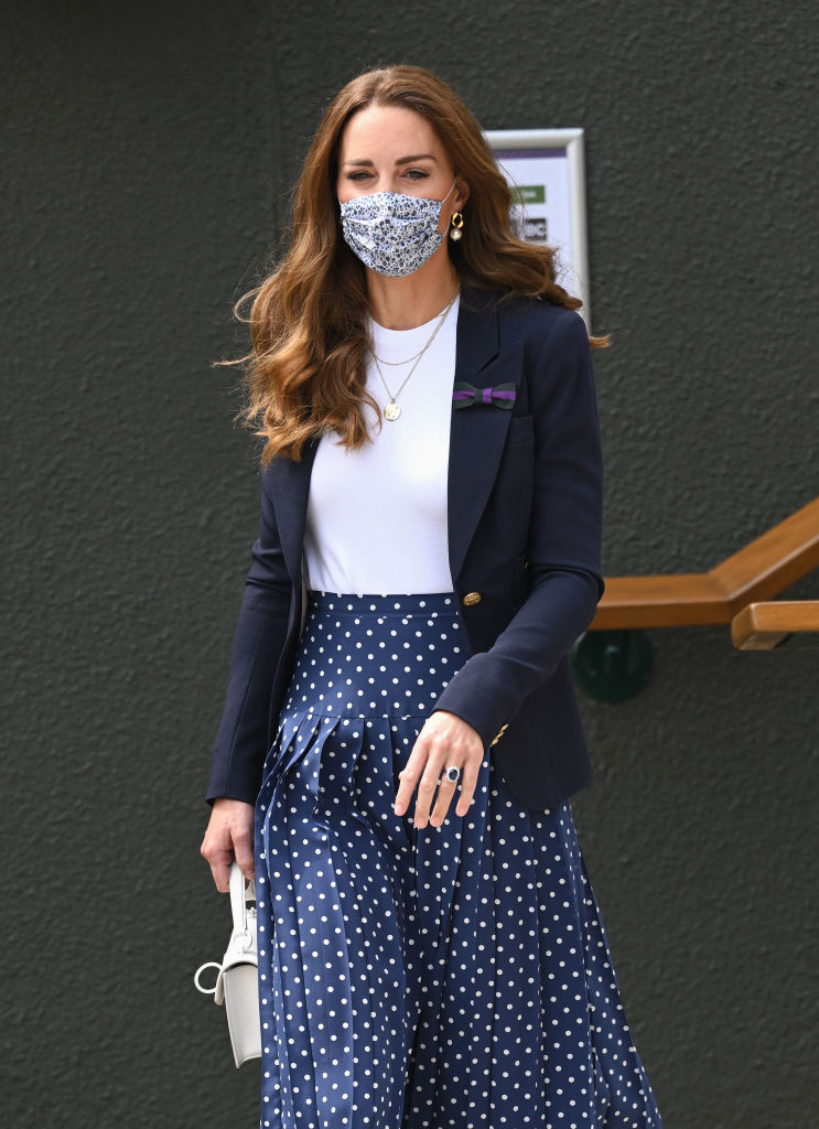 Wimbledon Celebrity Sightings Day 5