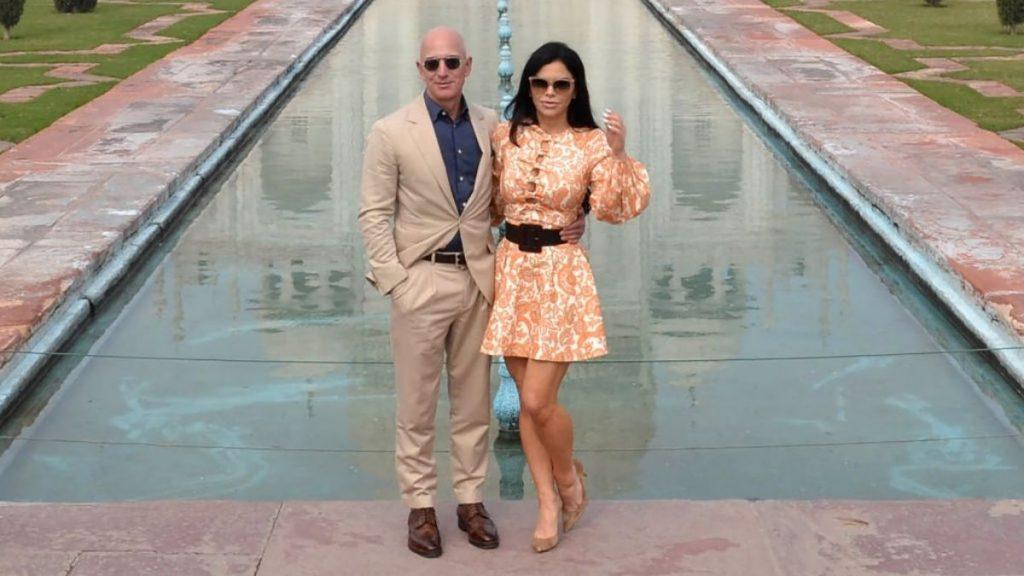 Laura Sanchez Y Jeff Bezos